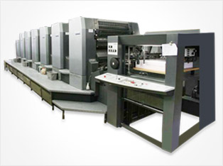 Used Offset printing equipment